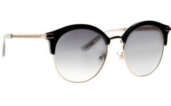 JIMMY CHOO Jimmy Choo Damen Sonnenbrille » HALLY/S«, braun, 086/HA - braun/braun