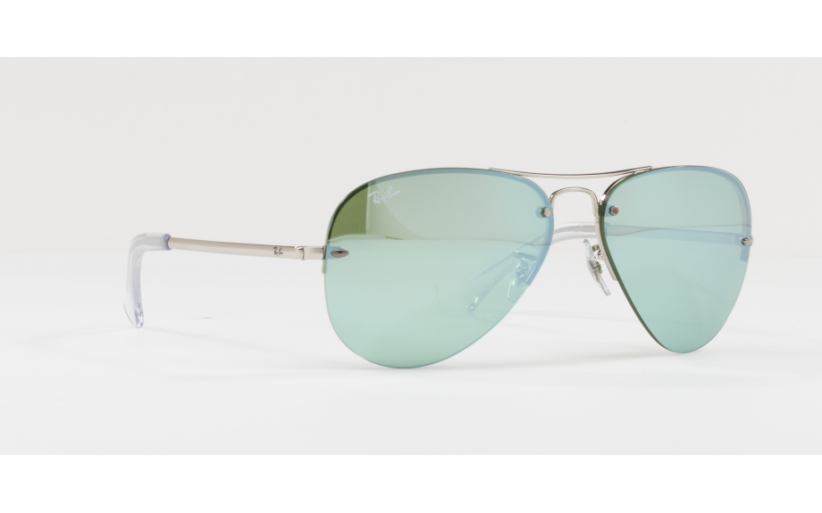 Ray-Ban RB3449 Sonnenbrille Silber 904330 59mm 5pRNS
