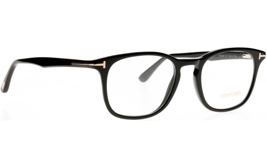 1cbe609516 Tom Ford FT5505-001-50 Brille - Kostenloser Versand | Schattenstation