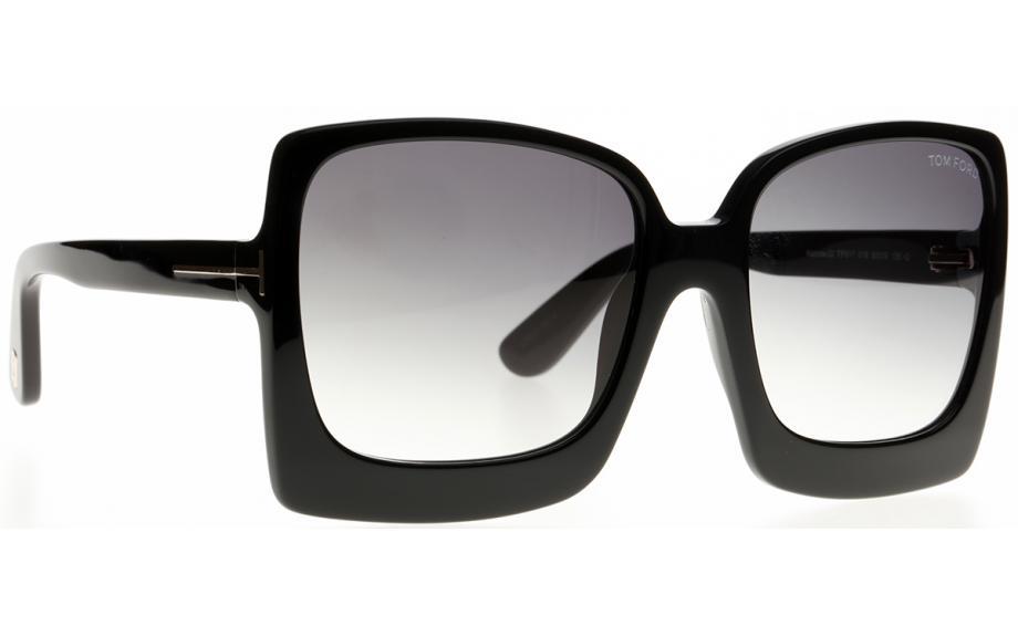 8e2885476dbd9 Tom Ford Katrine-02 FT0617 01B 60 Sonnenbrille - Kostenloser Versand ...
